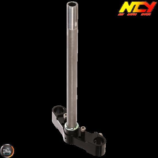 NCY Steering Stem Triple Tree Black (Honda Dio)