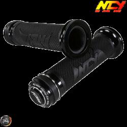 NCY Throttle Grip 7/8in Aluminum Button Set (GY6, Ruckus, Universal)