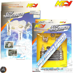 NCY Oil Cooler 17mm Kit (QMB, GY6, Universal)