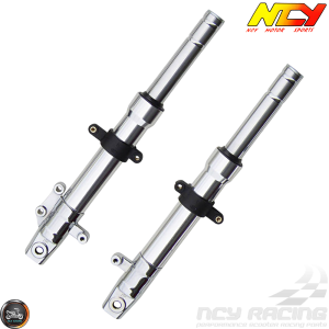 NCY Front Fork Chrome Set Disc Type (GY6)