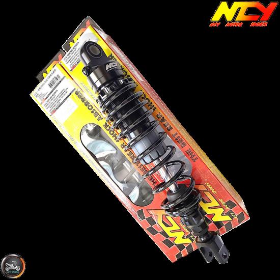 NCY Shock 336mm Adjustable Nitrogen Black Set (QMB, GY6, Universal)