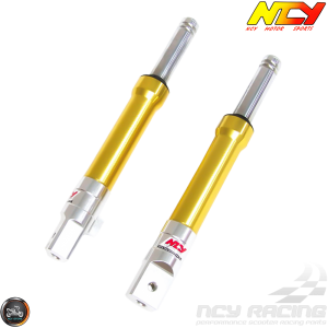 NCY Front Fork Gold Set Drum Type (Ruckus, Zoomer)