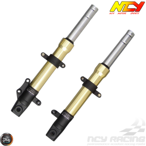 NCY Front Fork Gold Set Disc Type (GY6)