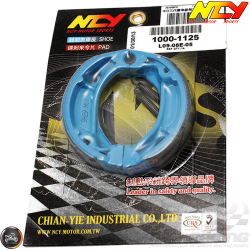 NCY Brake Shoes Blue (DIO, Ruckus)