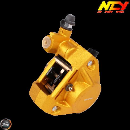 NCY Brake Caliper 2-Piston Forged Gold (Buddy, JOG, Zuma 50)