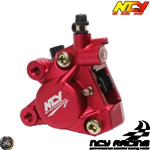NCY Brake Caliper 2-Piston Forged Red (Buddy, JOG, Zuma 50)