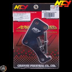 NCY Brake Caliper Adapter 260mm Black (BWS, Zuma 125)