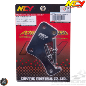 NCY Brake Caliper Adapter 260mm Black (BWS, Zuma 125)