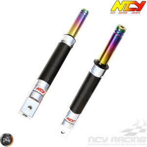 NCY Front Fork Carbon Fiber Set Performance Drum Type (Ruckus, Zoomer)