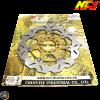 NCY Brake Disc 260mm Floated Gold w/Adapter (Honda PCX)