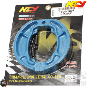 NCY Brake Shoes Blue (Honda PCX)