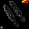 NCY Shock 311mm Adjustable Nitrogen Black Set (Honda PCX)