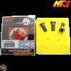 NCY Brake Disc Bolt Electroplated Titanium Set (Honda PCX)