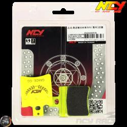 NCY Brake Pad 2-Piston Performance Set (Buddy, JOG, Zuma 50)