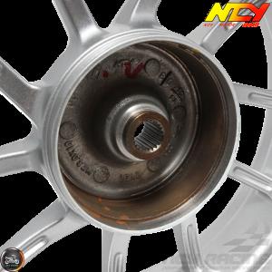 NCY Rim Rear 10in Silver 10-Spokes (Honda Ruckus)
