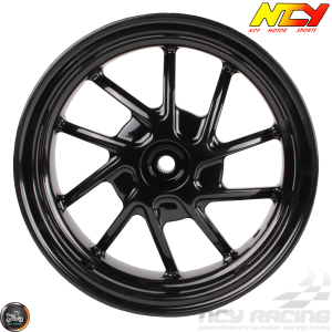 NCY Rim Rear 10in Black 10-Spokes (Honda Ruckus)