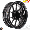 NCY Rim Set 10in Black 10-Spokes (Honda Ruckus)