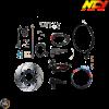 NCY Front End Slammed Disc Conversion Kit (Honda Ruckus)