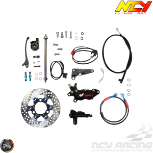 NCY Front End Slammed Disc Conversion Kit (Honda Ruckus)