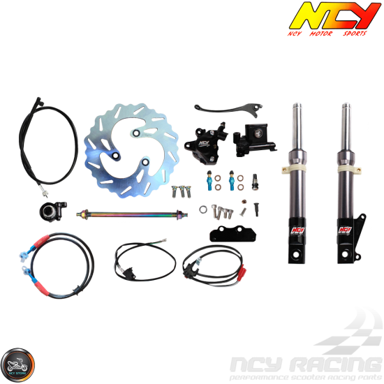 NCY Front End Titanium Gray Kit (Ruckus, Zoomer)