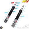 NCY Front Fork Black Set Performance Drum Type (Ruckus, Zoomer)