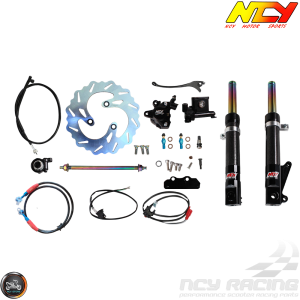 NCY Front End Carbon Fiber Kit (Ruckus, Zoomer)
