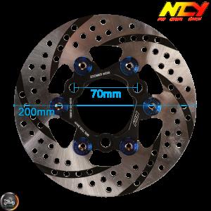 NCY Brake Disc 200mm Floated (DIO, Ruckus)
