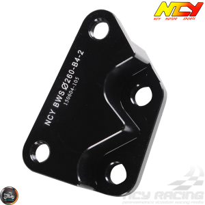 NCY Brake Caliper Adapter 260mm B4 Black (BWS, Zuma 125)