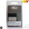 NCY Nut M12 Smooth Electroplated Titanium Set (QMB, GY6, Universal)