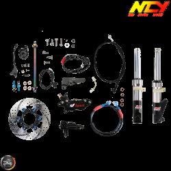 NCY Front End Slammed Titanium Gray Kit (Honda Ruckus)