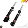 NCY Front Fork Black Set (Genuine Buddy, RoughHouse 50)