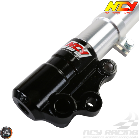 NCY Front Fork Silver Set (Genuine Buddy, RoughHouse 50)