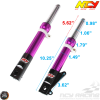 NCY Front End Purple Kit (Ruckus, Zoomer)