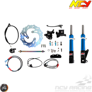 NCY Front End Blue Kit (Ruckus, Zoomer)