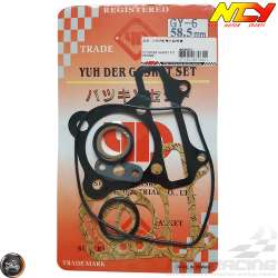 NCY Cylinder Gasket 58.5mm Set (GY6)