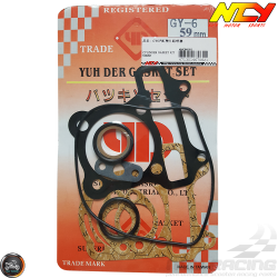 NCY Cylinder Gasket 59mm Set (GY6)