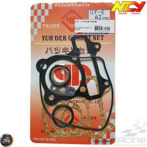 NCY Cylinder Gasket 62mm Set (GY6)