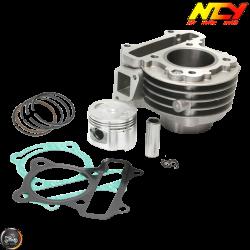 NCY Cylinder 47mm 72cc Big Bore Kit w/Cast Piston (139QMB)