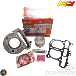 NCY Cylinder 52mm 88cc Big Bore Kit w/Cast Piston (139QMB)