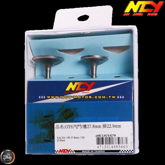 NCY Valve Set 2V 27.5/23 (GY6)