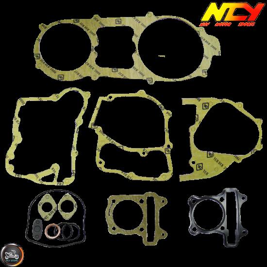 NCY Engine Gasket 57.4mm Set (GY6)