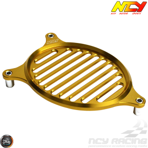 NCY Fan Cover Aluminum Gold (Honda PCX)