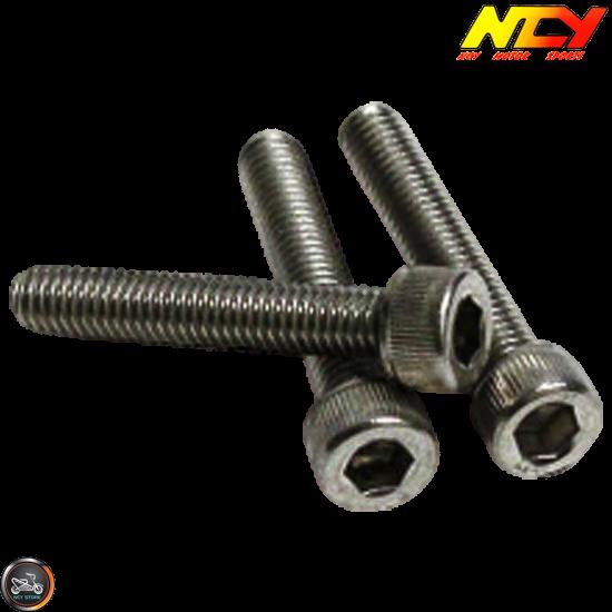 NCY Fan Cover Aluminum Gold (Honda PCX)