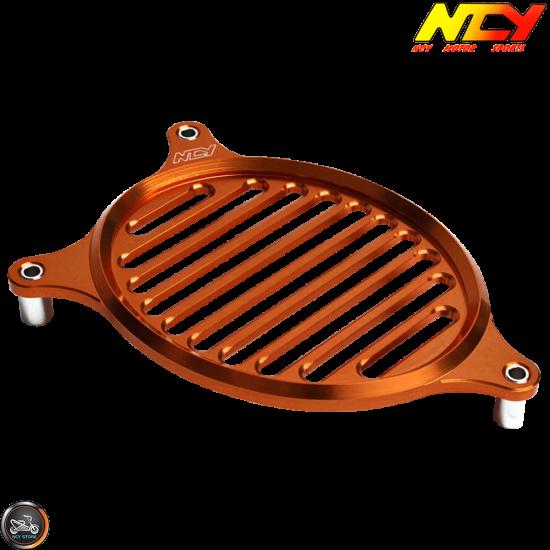 NCY Fan Cover Aluminum Orange (Honda PCX)