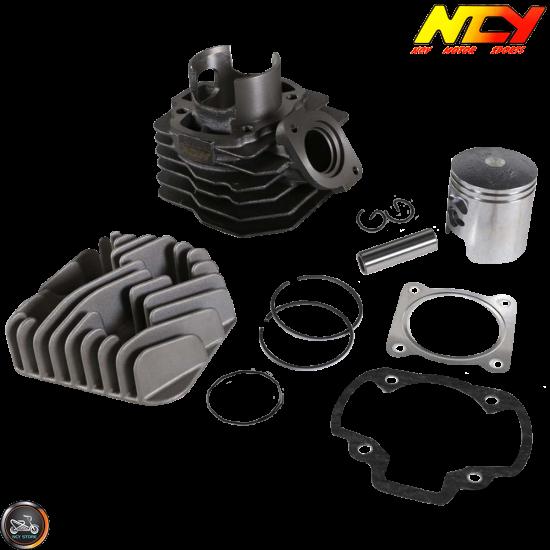 NCY Cylinder 48mm 75cc Big Bore Kit w/Alumin Piston (Honda Dio)