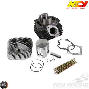 NCY Cylinder 50mm 81cc Big Bore Kit w/Alumin Piston (Honda Dio)