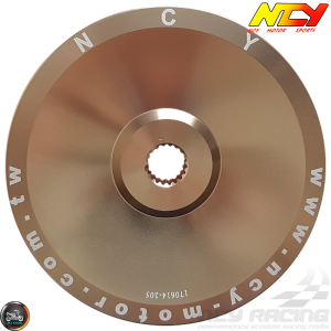 NCY Drive Face 114mm CNC-Machined Alumin (GY6)