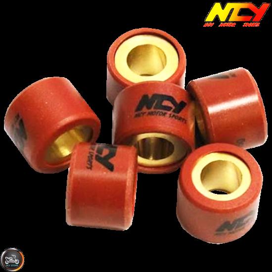 NCY Variator Roller Weight Set 15x12 (Aprilia, JOG, Zuma 50)