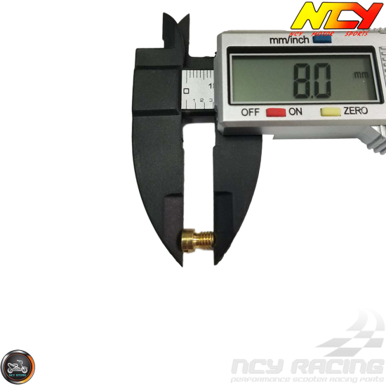 NCY CVK Main Jet 112 (139QMB, GY6)