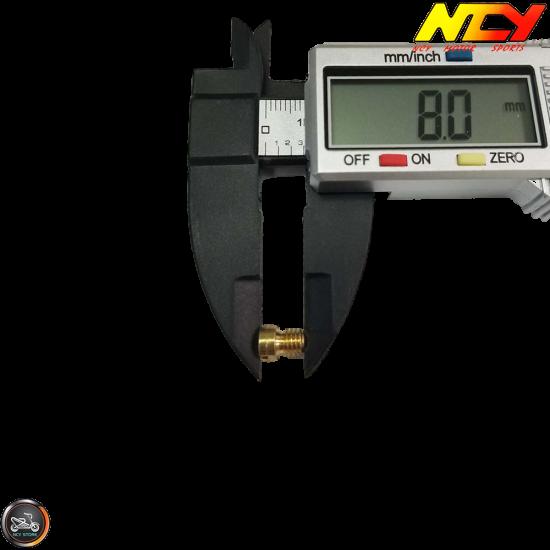 NCY CVK Main Jet 136 (139QMB, GY6)